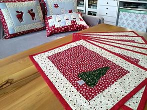Úžitkový textil - Vianočné prestieranie - 10158058_