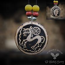 Náhrdelníky - Obojstranný amulet Keltská tetradrachma, Bratislava - 10158833_