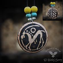 Náhrdelníky - Obojstranný amulet Keltská drachma, Slov.Grob - 10158990_