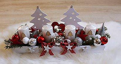 Dekorácie - Adventný dekorácia..... - 10158380_