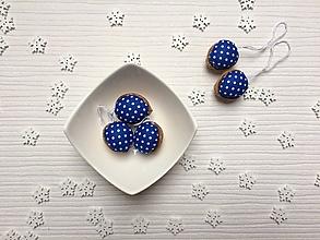Dekorácie - Mini bodkované modré - 10157744_