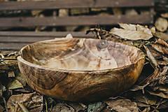 Nádoby - Veľká orechová miska - 10158261_
