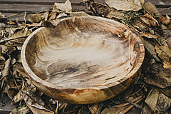 Nádoby - Veľká orechová miska - 10158266_