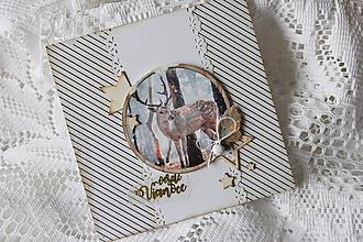 Papiernictvo - Vianočná pohľadnica - 10157619_