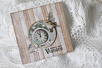 Papiernictvo - Vianočná pohľadnica - 10157647_