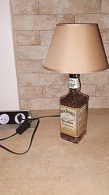 Svietidlá a sviečky - Jack daniels white rabbit saloon lampa - 10160163_