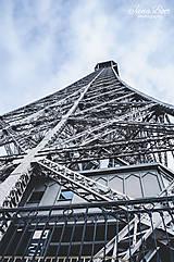 Fotografie - Eiffelovka - strieborná - 10158062_