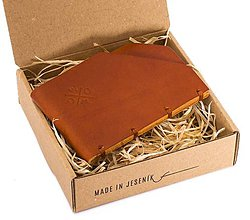 Doplnky - Kožená peněženka Moneta minor - 10159346_