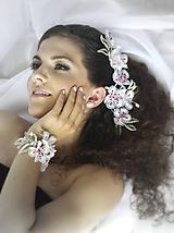 Náramky - Třešňové květy náramek - 10157798_