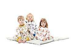 Detské oblečenie - Líška Plíška a Zajac Ervín - 10160093_