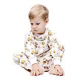 Detské oblečenie - Lesný relax biely patent - 10160158_