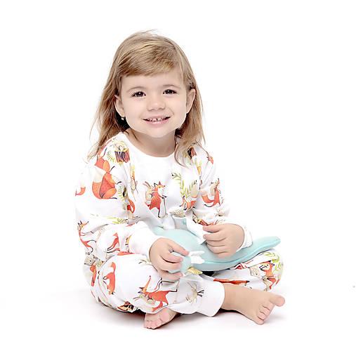 Detské oblečenie - Líška Plíška a Zajac Ervín - 10160090_