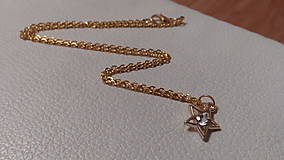 Náhrdelníky - Vianočná hviezda na krku - 10158607_