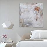 Obrazy - abstraktný obraz, Nad zemou, 100x100 (na objednávku) - 10160168_