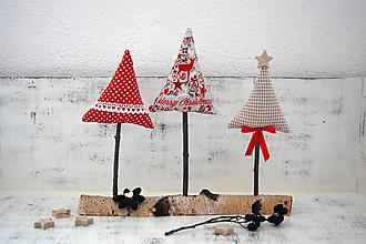 Dekorácie - Vianočné stromčeky - 10160038_