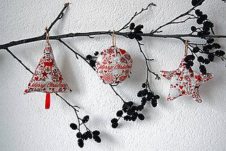 Dekorácie - Vianočné ozdoby - 10160049_
