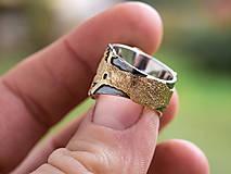 Prstene - Stromy strážcovia ... s ametystom v zlate - 10161318_