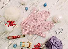 Rukavice - Luxury rukavice-100% vlna, - 10161591_
