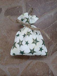 Dekorácie - Vianočné vrecúško 9 - 10161630_