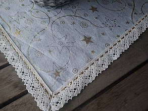 Úžitkový textil - Vianočný obrus... - 10162679_