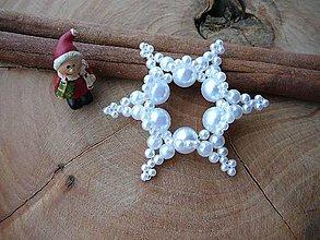 Dekorácie - ... vianočná hviezdička VII. - 10161373_