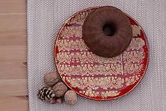 Nádoby - Plytký tanier - ľudová kolekcia - 10161114_