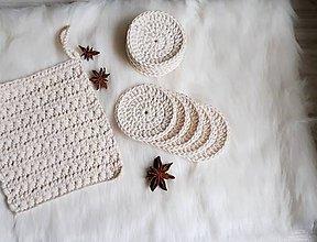 Úžitkový textil - Odličovacie tampóny - 10163323_