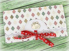 Papiernictvo - Vianočná obálka na peniaze - 10162611_