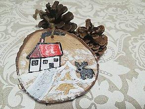 Dekorácie - Vianočná ozdoba - nature - 10163692_