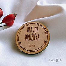 Pierka - Svadobný odznak . Love - 10163374_