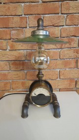 Svietidlá a sviečky - Steampunková lampička č.25 - 10163209_