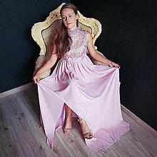Šaty - Spoločenské tehotenské šaty so stojačikom rôzne farby - 10162382_