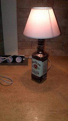Svietidlá a sviečky - Jim Beam lampa - 10162927_