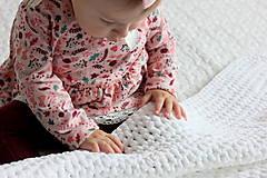 Úžitkový textil - Deka pre bábätko - 10162379_