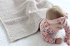 Úžitkový textil - Deka pre bábätko - 10162390_
