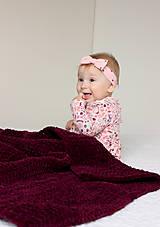 Úžitkový textil - Deka pre bábätko - 10162486_