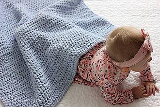 Úžitkový textil - Deka pre bábätko - 10162367_