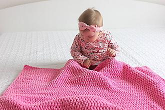 Úžitkový textil - Deka pre bábätko - 10162557_