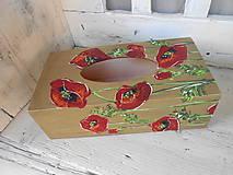 Krabičky - Divoké makovice - 10160797_