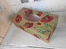 Krabičky - Divoké makovice - 10160798_