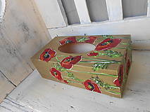 Krabičky - Divoké makovice - 10160799_