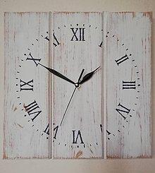 Hodiny - Nástenné hodiny- vintage - 10166030_