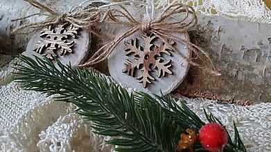 Dekorácie - Vidiecke vianočné koliečka:-) - 10164438_
