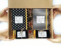 Papiernictvo - Lásky plná darčeková krabička pre neho a pre ňu - 10168819_