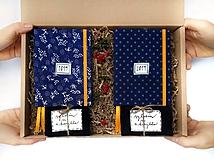 Doplnky - FOLK Lásky plná darčeková krabička pre neho a pre ňu - 10168832_