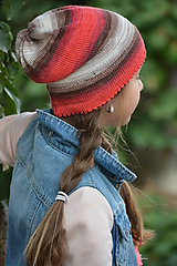 Detské čiapky - PESTROBAREVNÁ - 10164907_