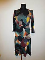 Šaty - Oválná geometrie - 10164483_