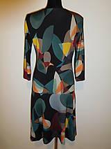 Šaty - Oválná geometrie - 10164486_