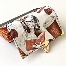 Peňaženky - Čokoláda světlá - peněženka - 10167781_
