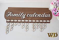 Tabuľky - Rodinný kalendár - 10164467_